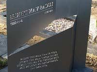 gedenkmonument - ontwerp Henk van Bennekum - rvs 304