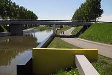 Schilderwerk brug te Dirksland van Lucien den Arend - restauratie en onderhoud.