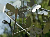 vlinderboom - rvs - Hans Leutscher - uitgevoerd door Segno 'd Arte